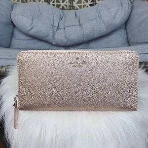 Kate Spade Large Continental Wallet - Rose Gold